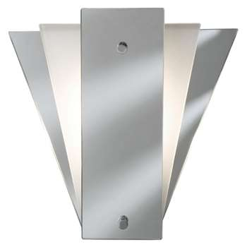Searchlight Deco Fan Mirrored Wall Bracket (H26 x W25cm)