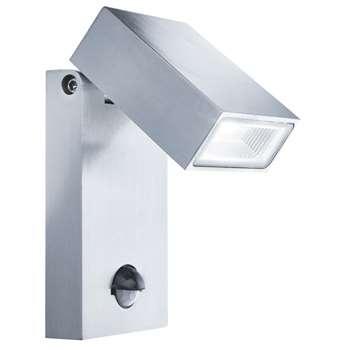 Searchlight Outdoor LED Wall Light with PIR Sensor (H15 x W8.5 x D11cm)