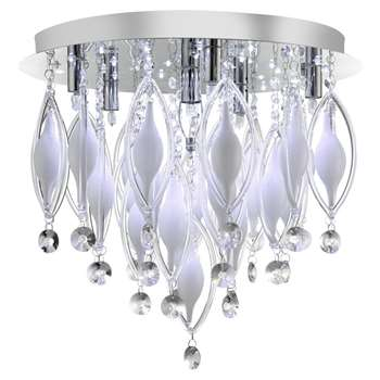 Searchlight Prelude 6 Light Ceiling Light (H43 x W44 x D44cm)