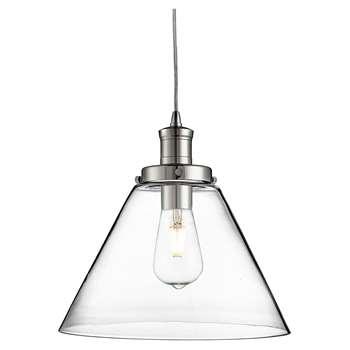 Searchlight Pyramid Pendant Ceiling Light (H100 x W29 x D29cm)