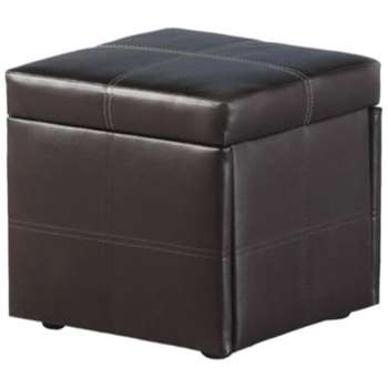 Seconique Unity Storage Footstool, Brown