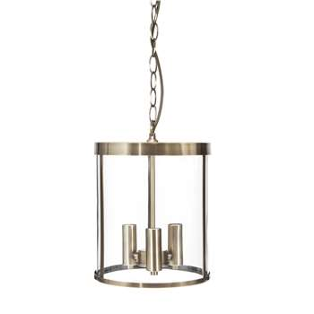 Selbourne Antique Brass Pendant Light (30.5 x 23cm)