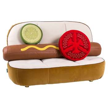 Seletti - Hot Dog Sofa With Pillows (H115 x W188cm)