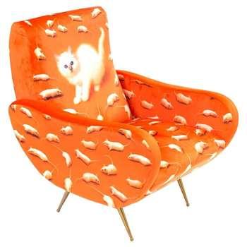 Seletti - Kitten Printed Armchair (86 x 70cm)