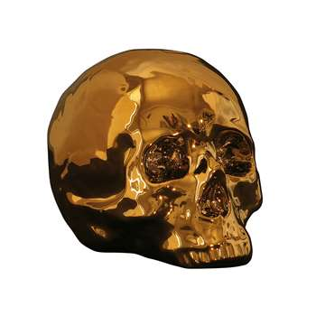 Seletti - Limited Gold Edition - My Skull (H15 x W25 x D14cm)
