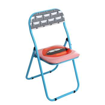 Seletti - Mouth Folding Chair (79 x 44cm)