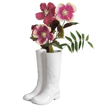 Seletti - Rainboots Porcelain Vase /umbrella Stand (36 x 20cm)