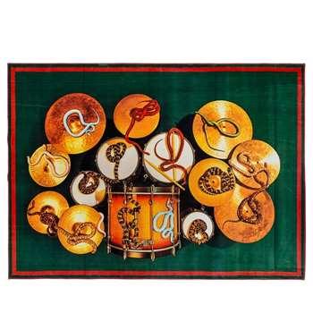 Seletti - Snakes & Drum Rug (194 x 280cm)