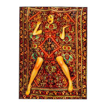 Seletti wears Toiletpaper - Lady in Carpet Rug (194 x 280cm)