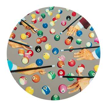 Seletti wears Toiletpaper - Round Wall Mirror - Snooker (70 x 70cm)
