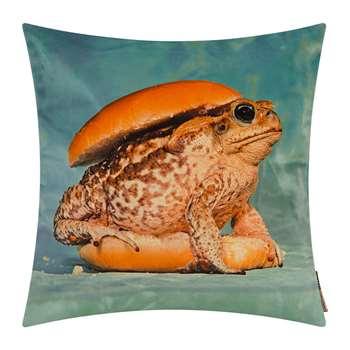 Seletti wears Toiletpaper - Toiletpaper Cushion Cover - 50x50cm - Toad (H50 x W50cm)