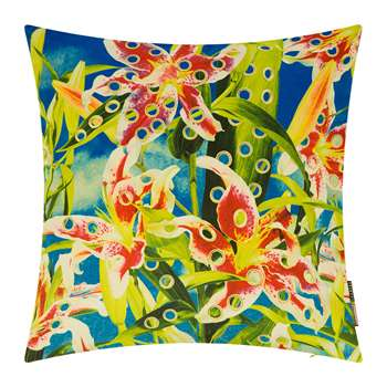Seletti wears Toiletpaper - Toiletpaper Cushion Cover - Flowers with Holes (H50 x W50cm)