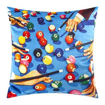 Seletti wears Toiletpaper - Toiletpaper Cushion Cover - Snooker (H50 x W50cm)