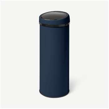 Sense Touch-Free Sensor Bin 50L, Midnight Navy Blue (H85 x W31 x D31cm)