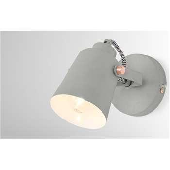 Seppo Spotlight, Grey (H10 x W10 x D20cm)