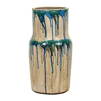 Serax - Green/Blue Drops Vase - Large (46 x 21cm)