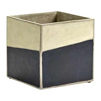 Serax - Marie Arty Square Plant Pot (H22 x W22 x D22cm)