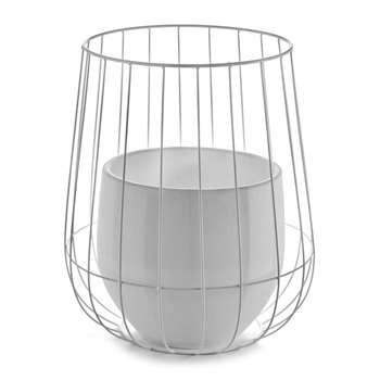 Serax - Pot In A Cage - White (46 x 37cm)
