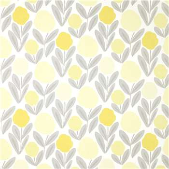 Serena Steel/Sunshine Wallpaper