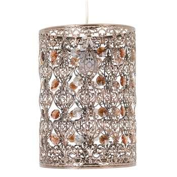 Servlite Cleo Pendant Light Shade Bronze (H28 x W20 x D20cm)