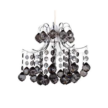 Servlite Large Faceted Layla Pendant Shade (H25.5 x W31 x D31cm)