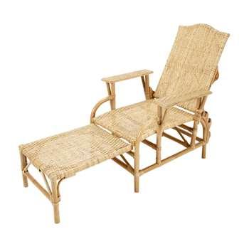 SEVILLE Rattan steamer chair (100 x 77cm)
