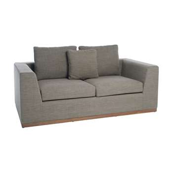 Seville sofa bed two seater mocha (68 x 190cm)