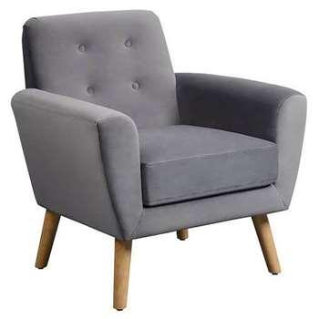 Sexton Armchair, Retro Smoke (87 x 81cm)