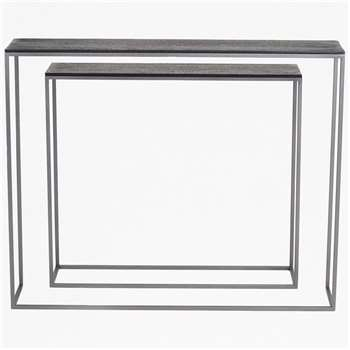 Shadow Console Tables (H81 x W100 x D20cm)