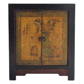 SHANGHAÏ Recycled Wood Cabinet (H70 x W60 x D35cm)