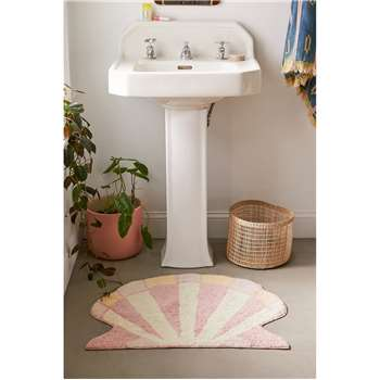 Shelly Shaped Bath Mat (H61 x W76cm)