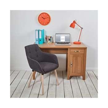 Sherwood Oak Effect Workstation/Desk (74.5 x 118cm)