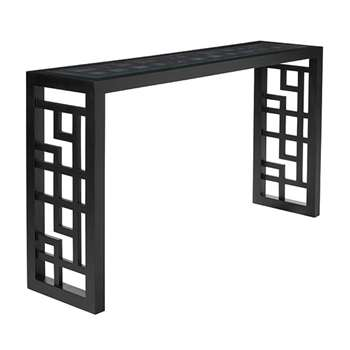 Shiga Console Table - Black (79 x 140cm)