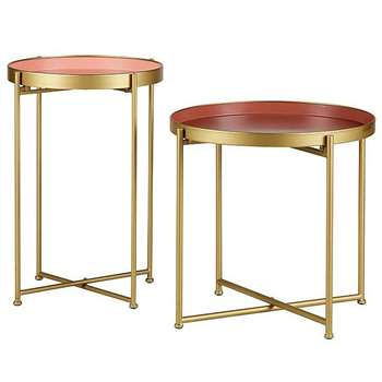 Siamese Side Tables