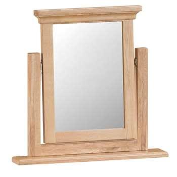 Siena Oak Trinket Mirror (H56 x W50 x D6cm)