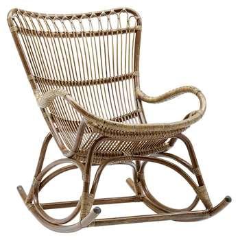 Sika-Design - Monet Rocking Chair - Antique Brown (H93 x W65 x D99cm)