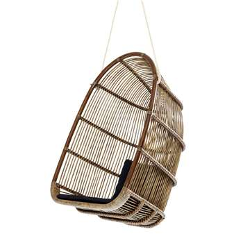 Sika Rattan Renoir Hanging Chair in Antique (H113 x W75 x D68cm)