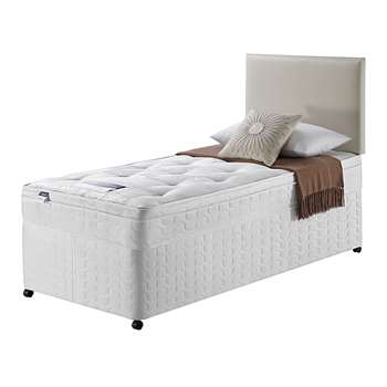 Silentnight Miracoil Travis Ortho Single Divan Bed 61 x 190cm