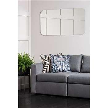 Silhouette Rectangular Wall Mirror (H75 x W120cm)