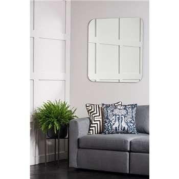 Silhouette Square Wall Mirror (H90 x W90cm)
