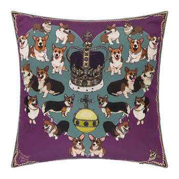 Silken Favours - Your Majesty Cushion (H45 x W45cm)