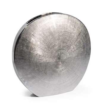 SILVER dolomite lunar vase (Height 30cm)