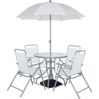 Simple Value - 4 Seater Patio Furniture Set