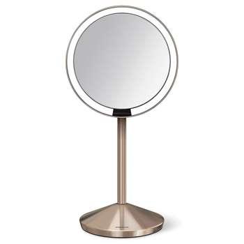 simplehuman - Mini Sensor Mirror - Rose Gold (23 x 12cm)