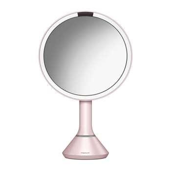 simplehuman - Sensor Mirror with Brightness Control - Pink (H46 x W20cm)