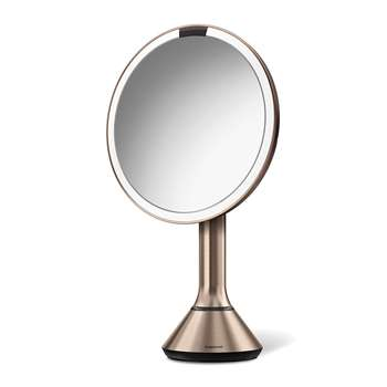 simplehuman - Sensor Mirror with Brightness Control - Rose Gold (H46 x W20cm)