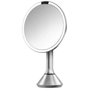 simplehuman Sensor Mirror with Touch Control Brightness (38.4 x 12cm)