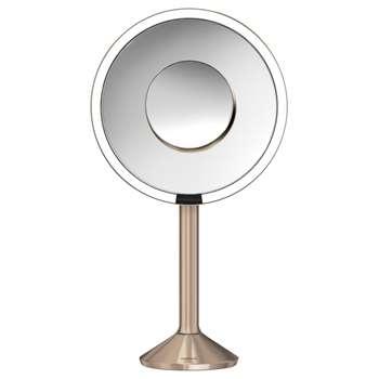 simplehuman Sensor Pro Bathroom Mirror, Rose Gold (36 x 23.1cm)