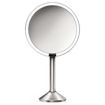 simplehuman Sensor Pro Bathroom Mirror, Silver (36 x 23.1cm)