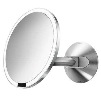simplehuman Wall Mounted Bathroom Sensor Mirror Dia. 27cm